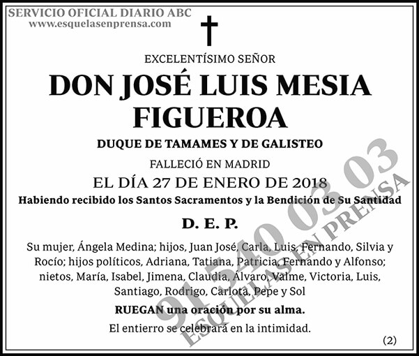 José Luis Mesia Figueroa